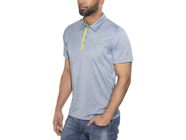 Meru Grasse - Camiseta manga corta Hombre - azul